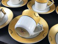 Topkapi - Gloria Gold -  12tlg Kaffeeservice