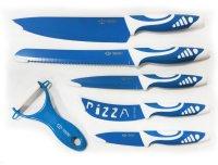 Royal Swiss® 6PCS Messer-Set blau