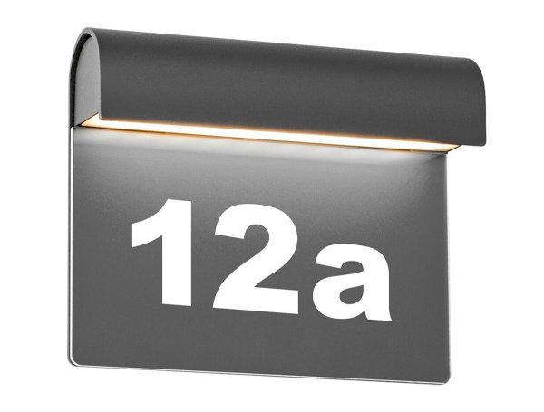 LED-Außenwandleuchte Cento - anthrazit