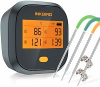 Inkbird Grillthermometer , Grillthermometer Wlan IBBQ-4T