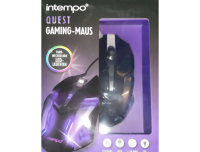 Intempo Quest PC-Gaming-Kabelmaus