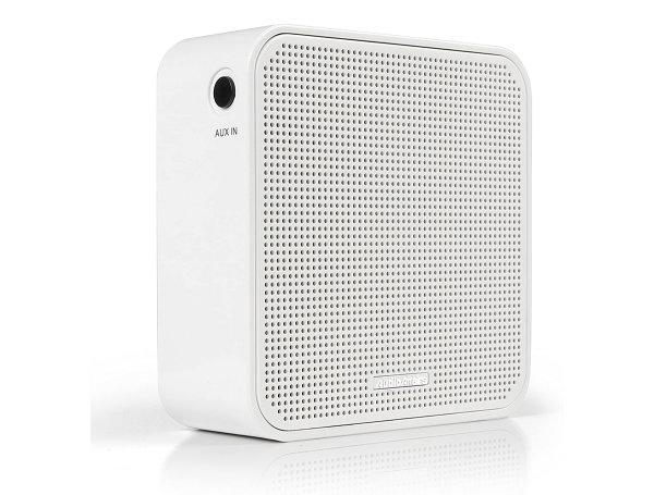 Audio Affairs® PR 002 WH mobiles Bluetooth-Steckdosenradio weiß