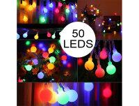 Decolux® LED-Sommerlichterkette Glühbirnen bunt